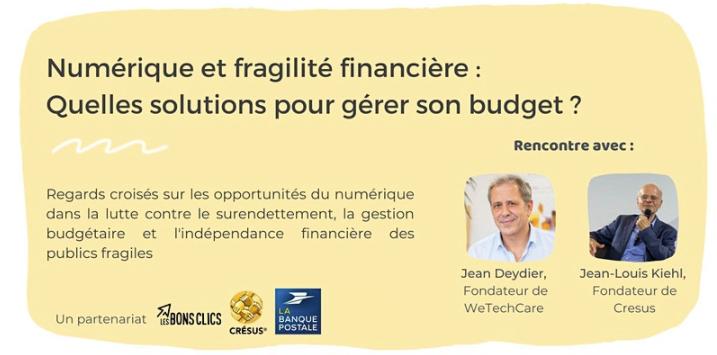 Inscrivez-vous à la conférence avec Jean-Louis Kiehl, le fondatuer de CRESUS, le 07 octobre 2021 à 11h !